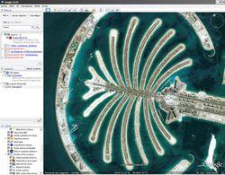 Google Earth screen 1