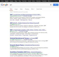 Google-GNT