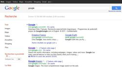 Google-Interface