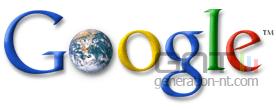 Google logo avec terre