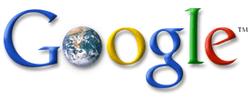 Google : Logo avec Terre