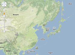 Google-maps-coree-sud