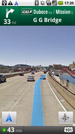 Google Maps Navigation 01