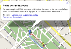 Google maps nettoyage paris