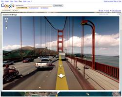 Google maps street view golden gate san francisco