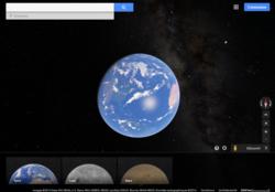 Google-Maps-Terre-Mars-Lune