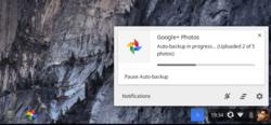 Google photos appli séparée