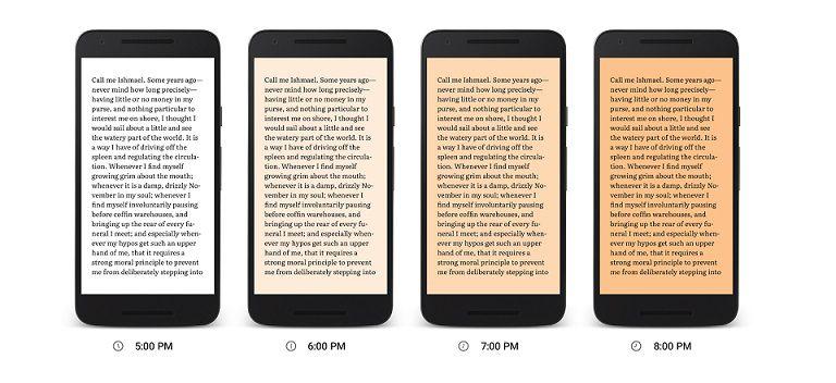 Google Play Books Night Light