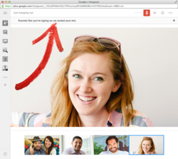 Google+-clavier-micro