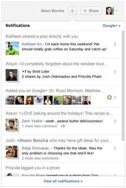 Google+-notifications