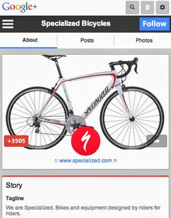 Google+-web-mobile-page
