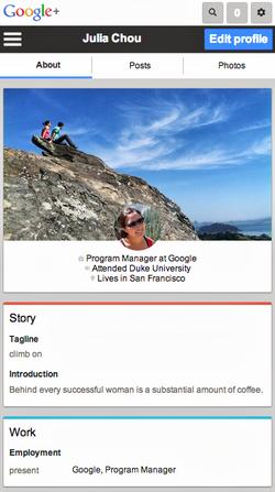 Google+-web-mobile-profil