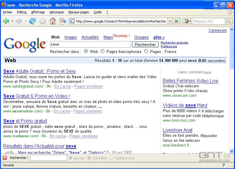 google videos pornos