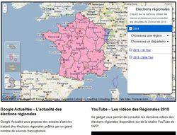 Google-regionales