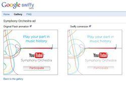 Google-Swiffy