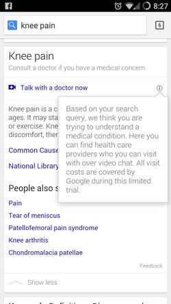 Google télémédecine