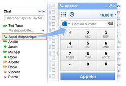 Google Voice France