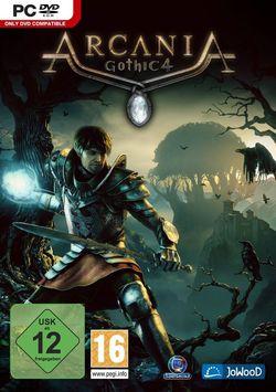 Gothic 4 Arcania - Jaquette