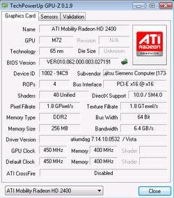 GPU Z 0.1.9