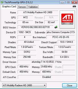 GPU Z 0.2.2 principale