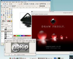 Grafpup gimp inkscape