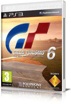 Gran Turismo 6 - pochette non officielle