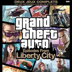 Grand Theft Auto Episodes from Liberty City - Logo