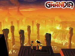 Grandia - artwork