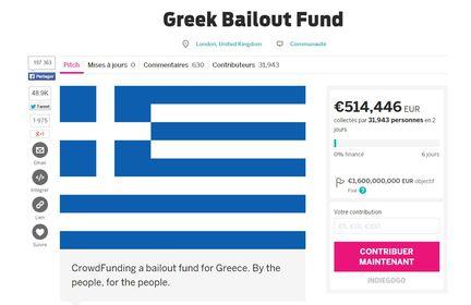 Grèce indiegogo
