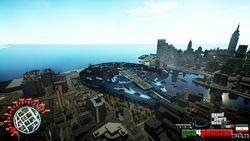 GTA 4 - mod Faucon Millenium - 1