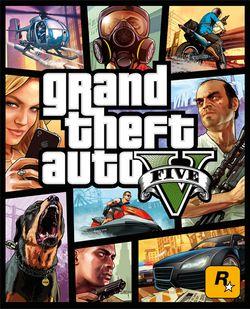 GTA 5 - pochette