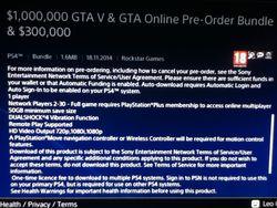 GTA 5 PS4 - espace disque