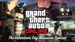 GTA Online - pack Massacre Saint Valentin