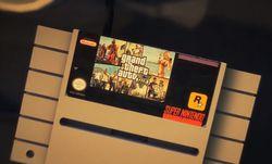 GTA Super NES - cartouche