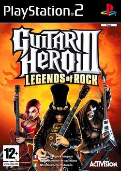 Guitar hero 3 legends of rock ps2