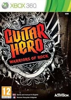 Guitar Hero Warriors of Rock