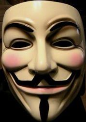 Guy-Fawkes-masque