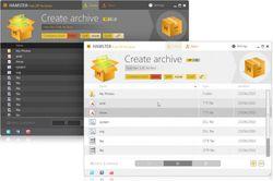 Hamster Free ZIP Archiver screen2
