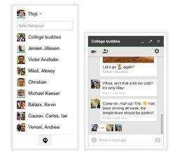 Hangouts-Gmail