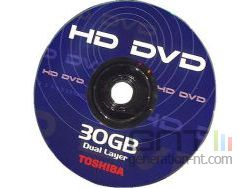 HD DVD disc