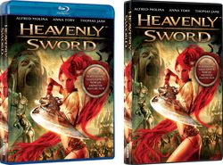 Heavenly Sword - DVD Blu-ray