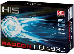 HIS ATI Radeon HD 4830 2