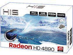 HIS HD 4890 iCooler x4 boîte