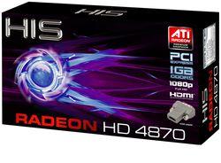 HIS Radeon 4870 HD 1