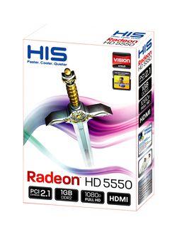 HIS Radeon HD 5550 Silence boîte