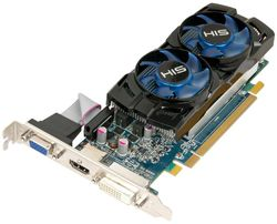HIS Radeon HD 6670 low profile - 1