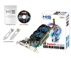 HIS Radeon HD 6670 low profile - 4