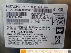 Hitachi disque dur 4 To 2