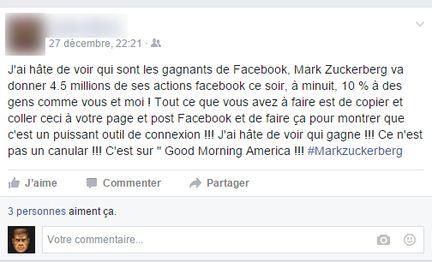hoax Facebook