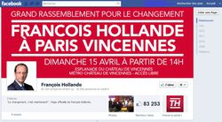 Hollande Facebook